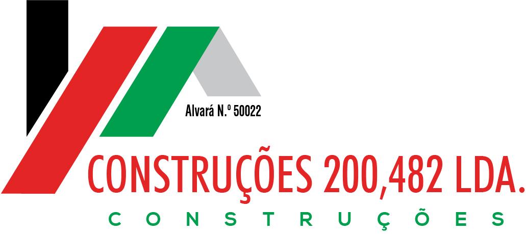 Construções 200,482 águeda construção logo